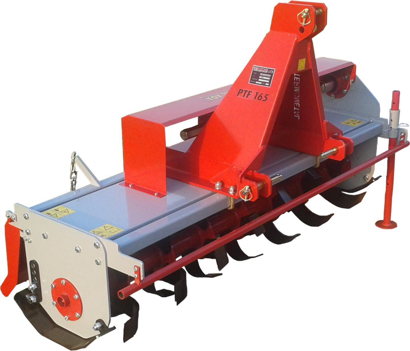 Poluteške traktorske freze PTF 145, PTF 165, PTF 185