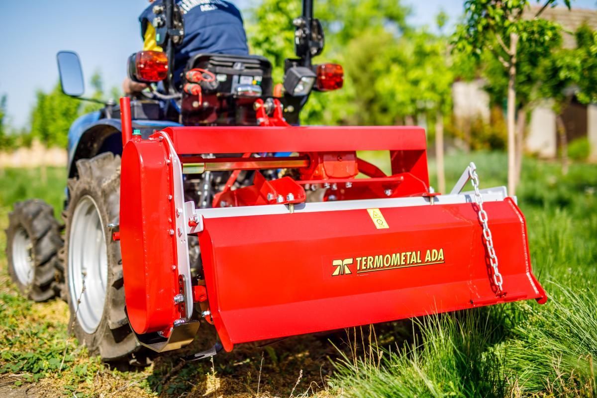 Angehängte Bodenfräse für Traktoren mit Halbschwergewicht - PTF 125